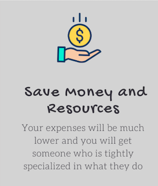save money and resources